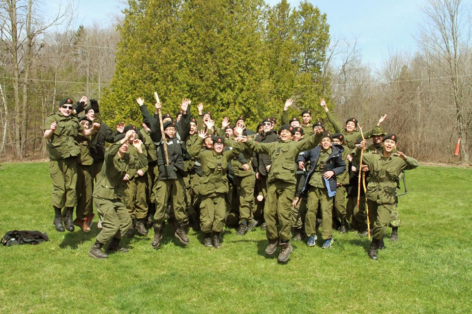 Lorne Scots Cadets celebration