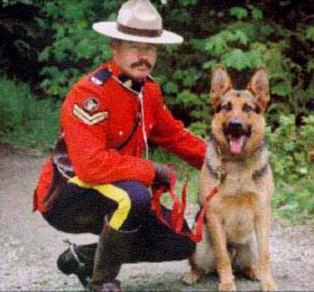 RCMP Dog Master