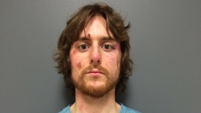 Justin Bourque at the time of his arrest