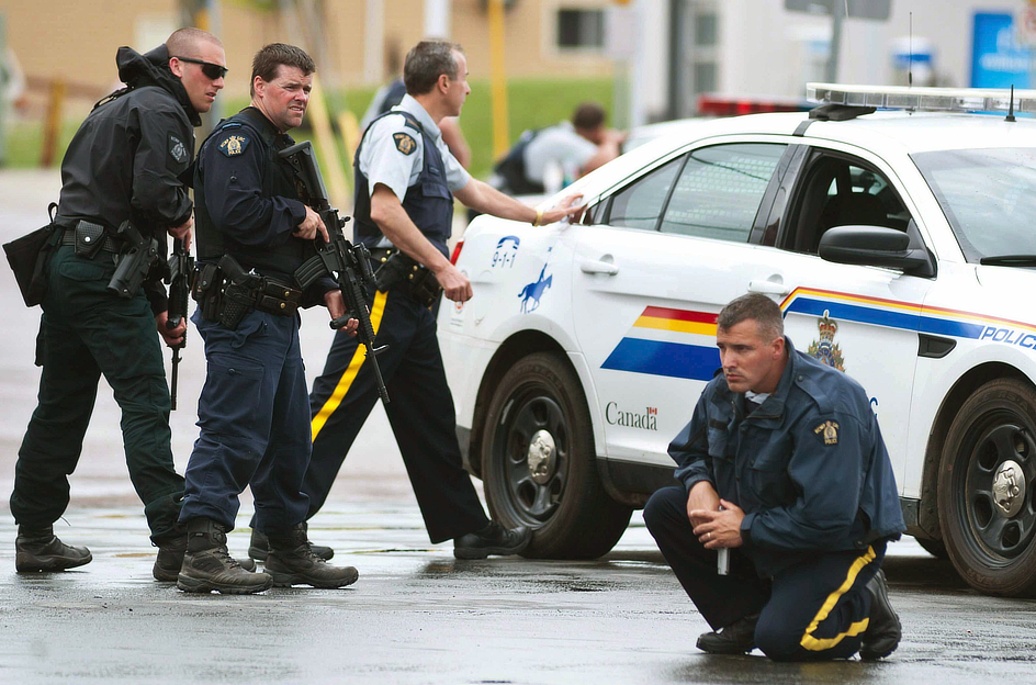 RCMP Members in Moncton