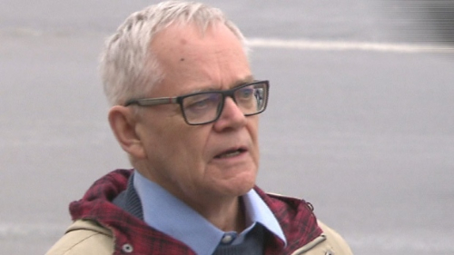 Witness Darryl Davies, a criminology professor at Carleton University, has been studying RCMP policing and training for seven years. (Radio-Canada)