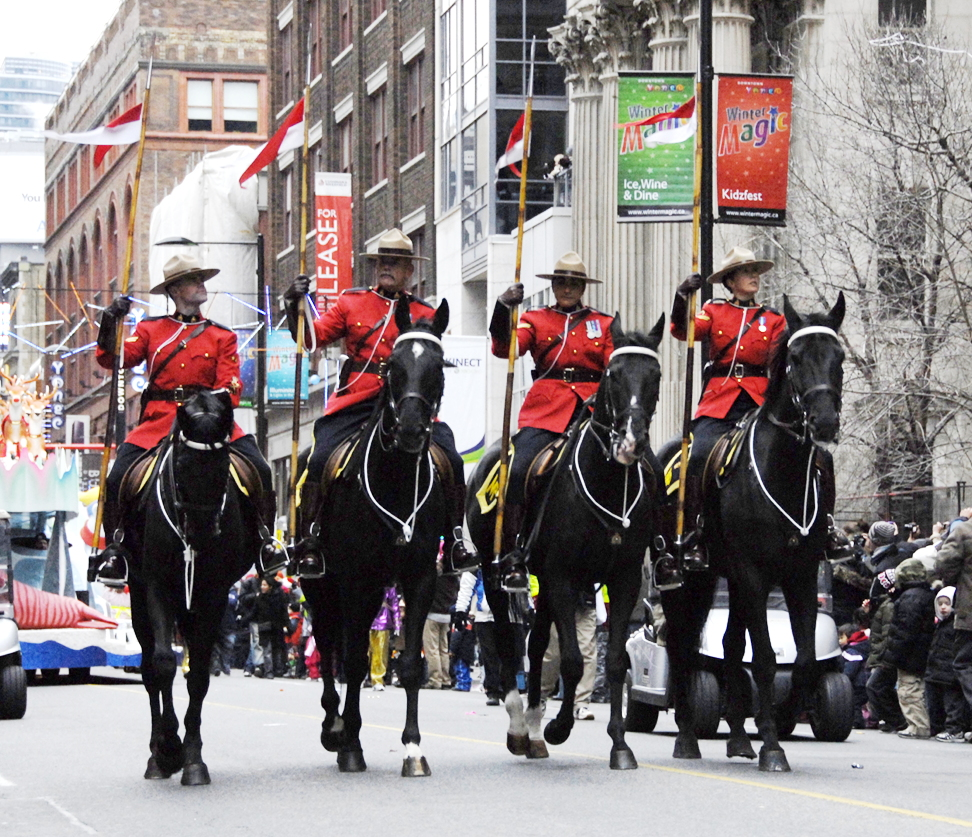The Musical Ride on Yonge Street