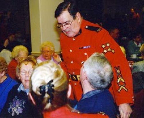 Reid Tate acting on behalf of the RCMPVA